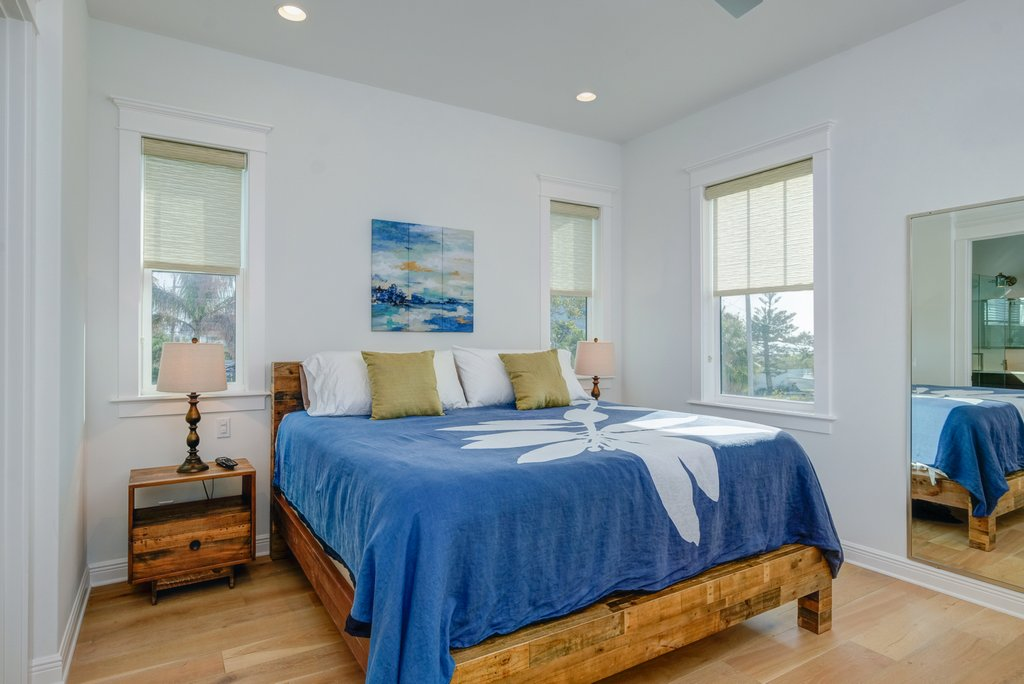 King Bed with Beach Views