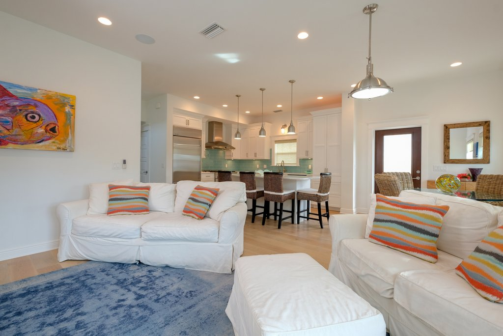 Move Freely in this Spacious Living Area
