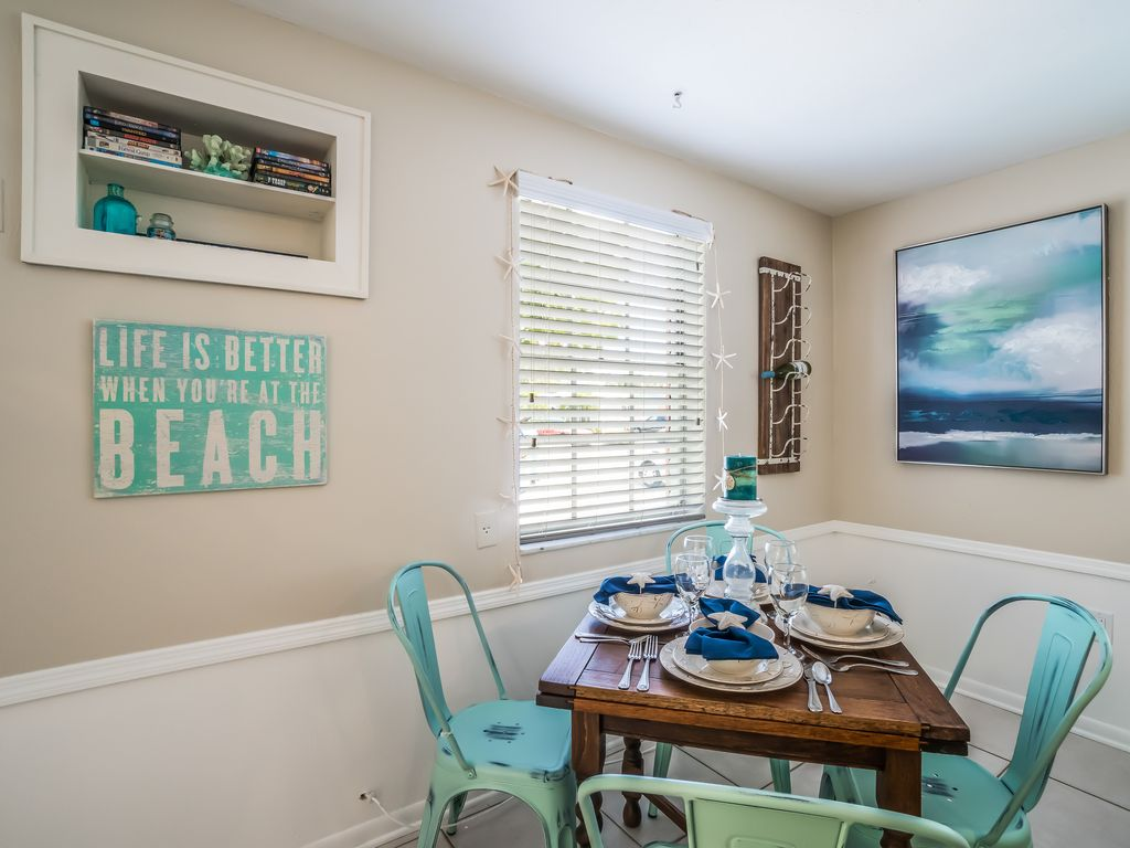 Dining Opens to Living Room