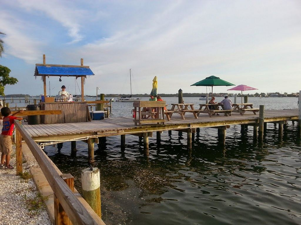 Tide Tables Tiki and Marina Dining Just Before the Bridge