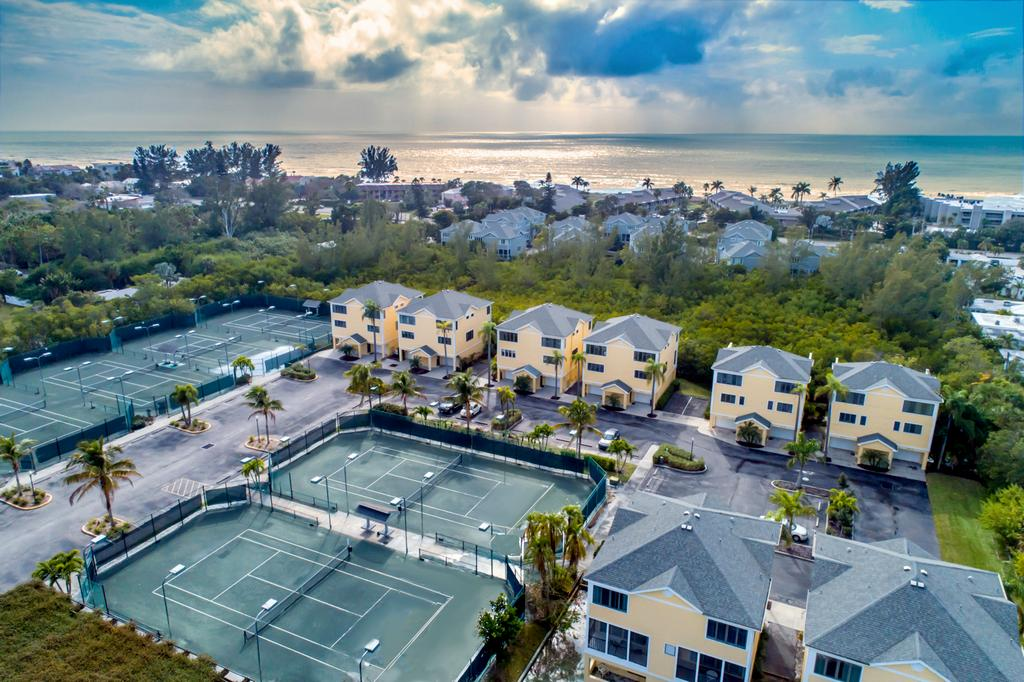 A Tennis Resort with Gulf Beach Right Across the Street