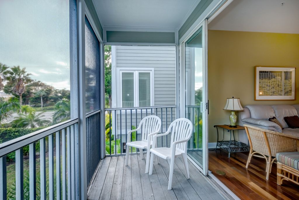 Let the Breezes Flow in from the Screened-In Balcony