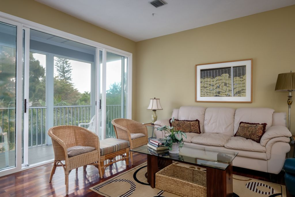 Comfortable Furnishings and  Access to the Balcony