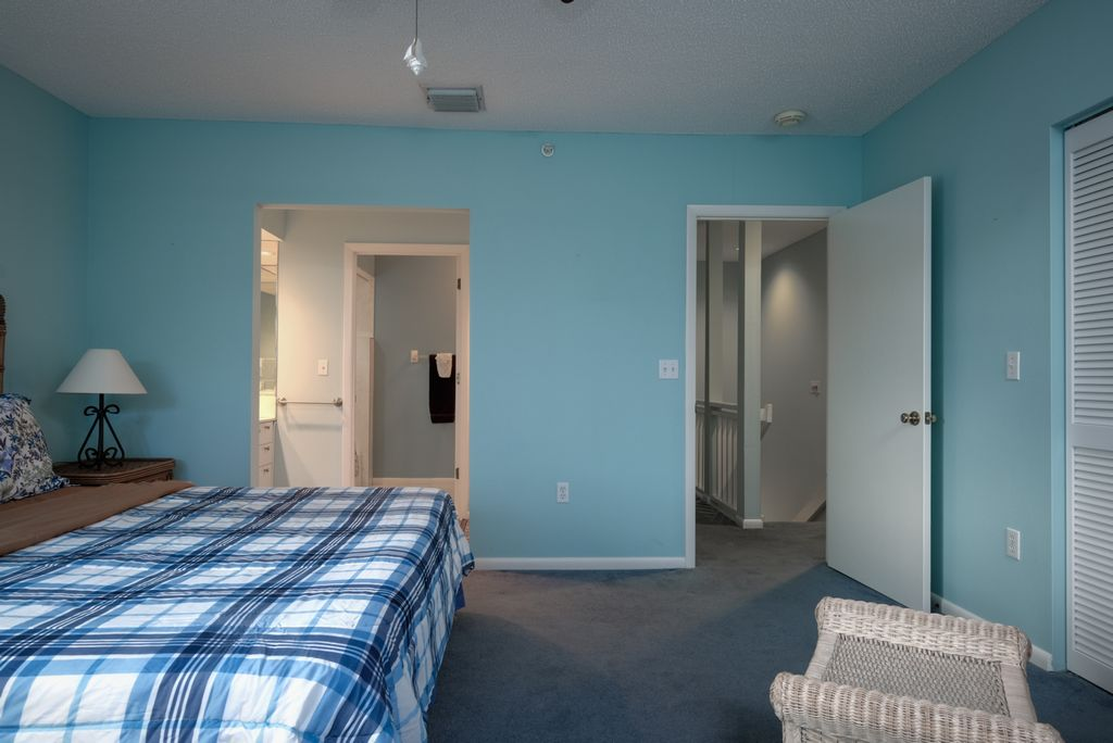 Master has King Bed and Ensuite Bath