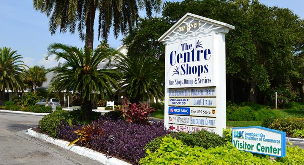 Shopping Center and Longboat Key Visitor Center