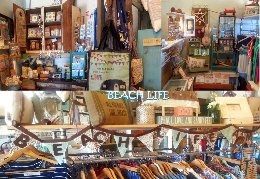 Beach Boutiques are a Few Blocks Away
