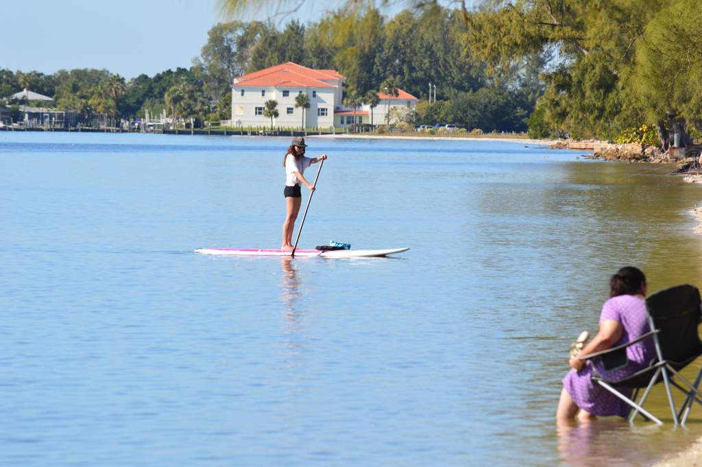 Paddleboarding is Smoother on the Bay Side