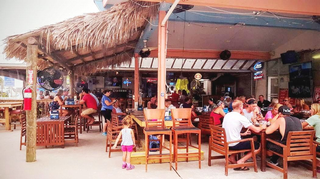 The Ugly Grouper has Outdoor TIKI Dining with Family Fun