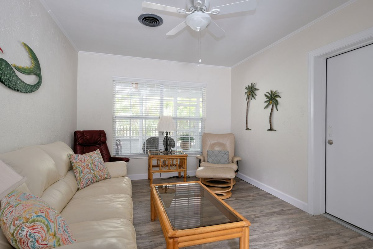 More Comfortable Seating with Ceiling Fans
