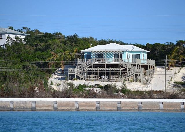 Sunsplash House from the sea