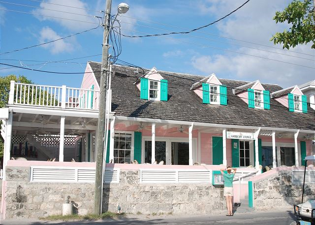 Colonial architecture on Harbour Island