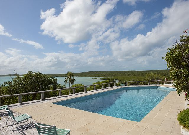 Beautiful views from deck and pool