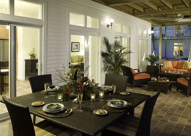 Waterfront Patio for Entertaining