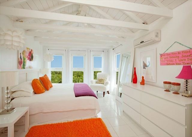 Master bedroom with double ocean views
