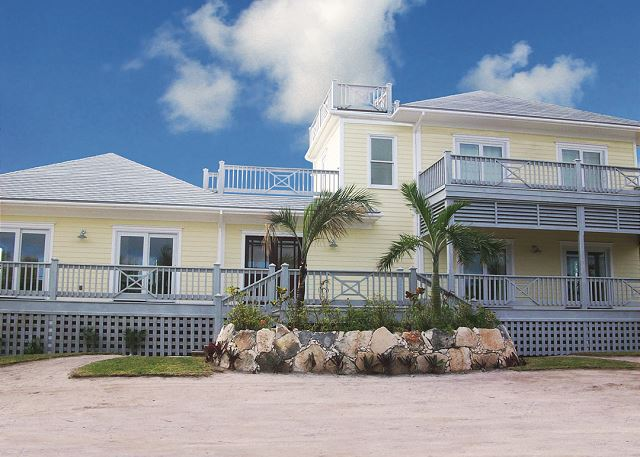 Facade of Richview House, steps from French Leave Beach