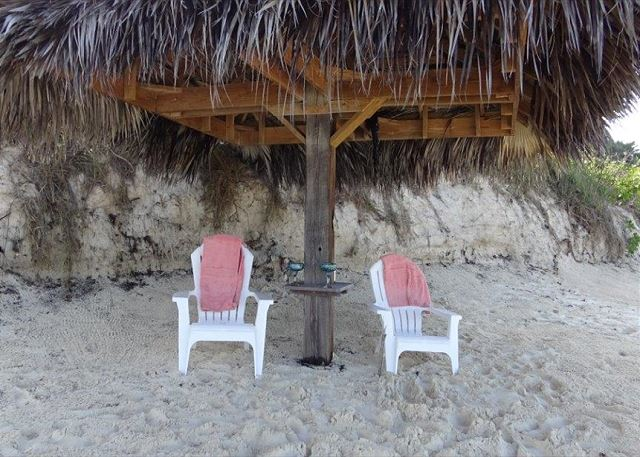 Shade and beach seating