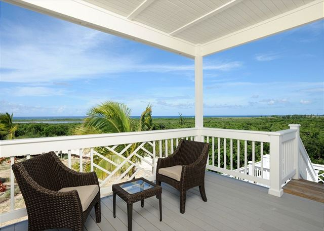 View from the east deck with Atlantic Ocean views.