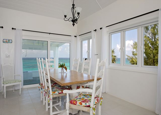 Dining Area with views of ocean