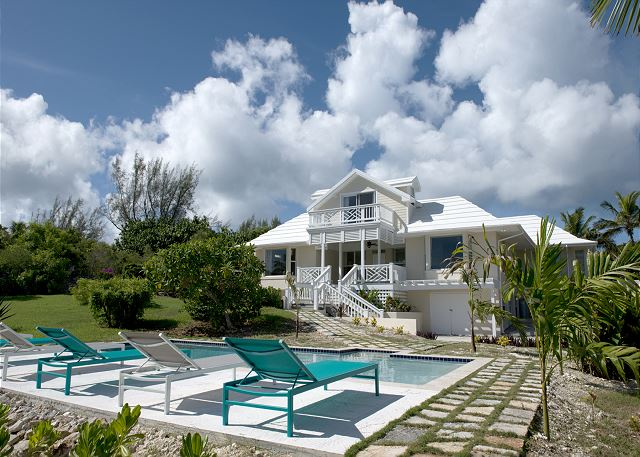 New beach house with in-ground private pool and extensive yard and gardens