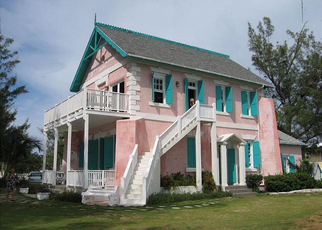 Historic Haynes Library in Governors Harbour