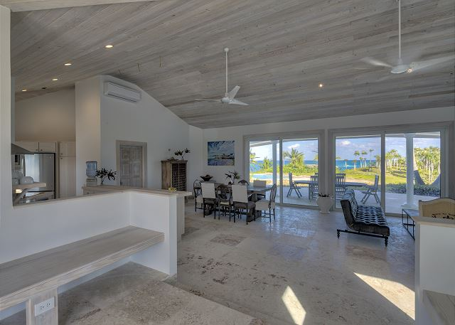 Great room with spectacular ocean views