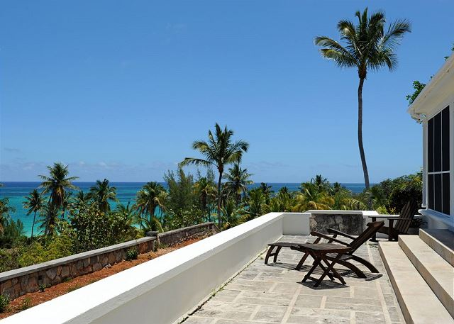 Patio, enjoy the view, sound, and smell of the ocean