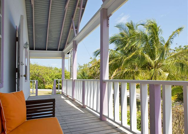Relax on the Deck of Orchid Cottage