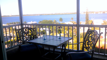 Fort Myers Beach Vacation Rental with a Bay View