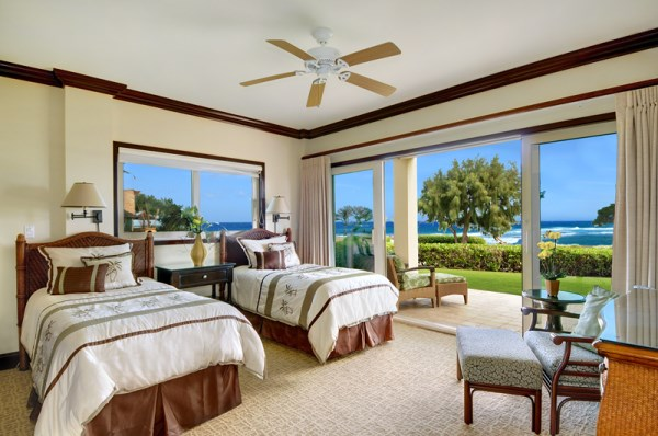 2nd Master Suite Twin Beds Oceanfront