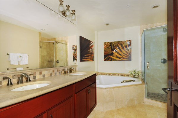 Second Master Bath with Shower and Soaking Tub