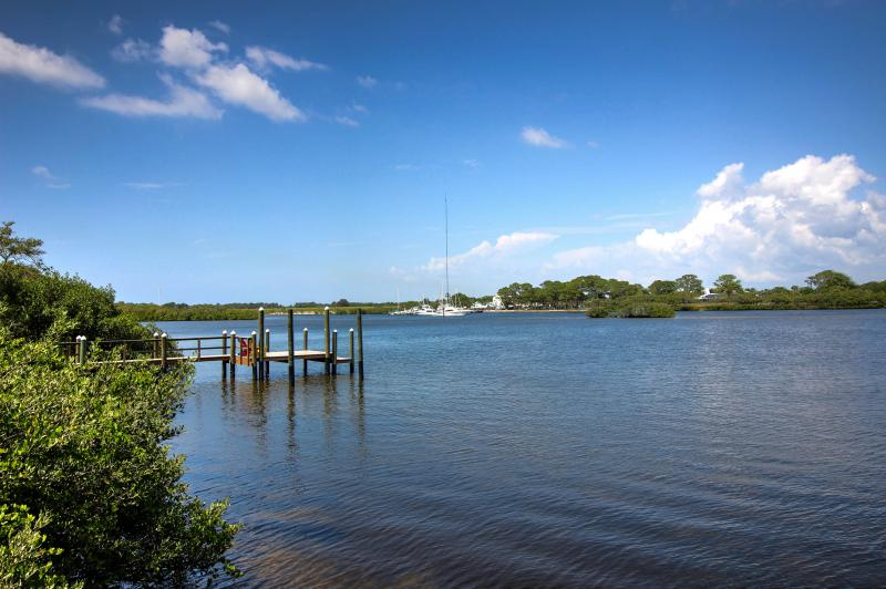 Kayak, Fish and Watch the Dolphins Play from Your Dock