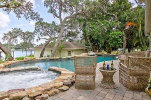 Pull Up a Sun Chair and a Brew Next to the Grotto Pool Area