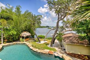 View of the Pool and Water from Master Retreats