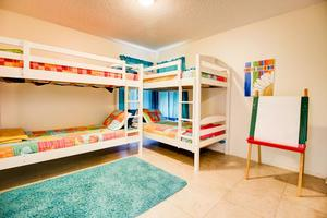 The Bunk Bed Room with 50-60 Children's Movies