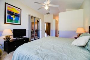 Spacious Master Retreat with Flat Screen TV