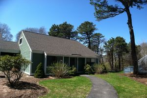 Outside - Front view 2 bedroom vacation condo in Cape Cod, MA