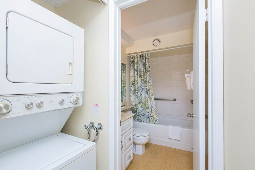 Washer + Dryer in the Condo!