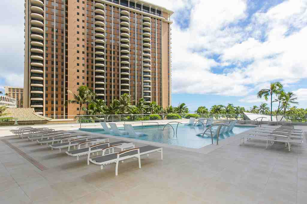 Relax at the 2nd floor pool deck!