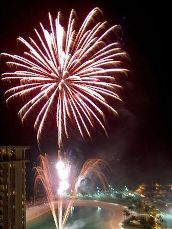 Friday Night Fireworks, Front Row Seats!
