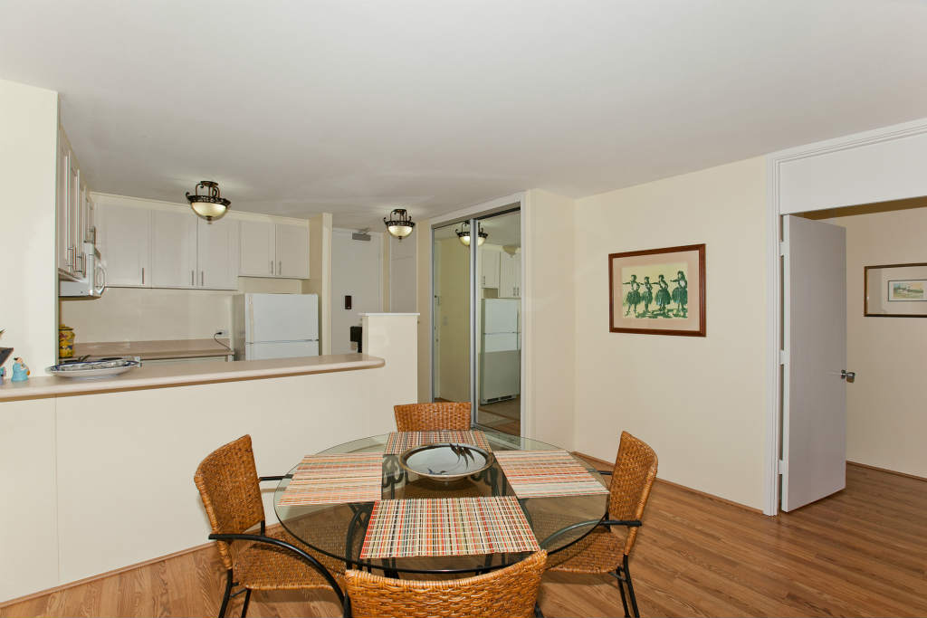 Dining Area/Kitchen/Entrance