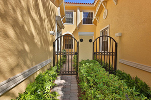 Gated Courtyard and Entry