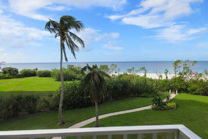 Gulf Front View from the Balcony of Estero Beach And Tennis Club 205C
