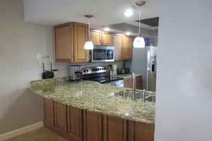Newly Remodeled Kitchen at Eden House 403