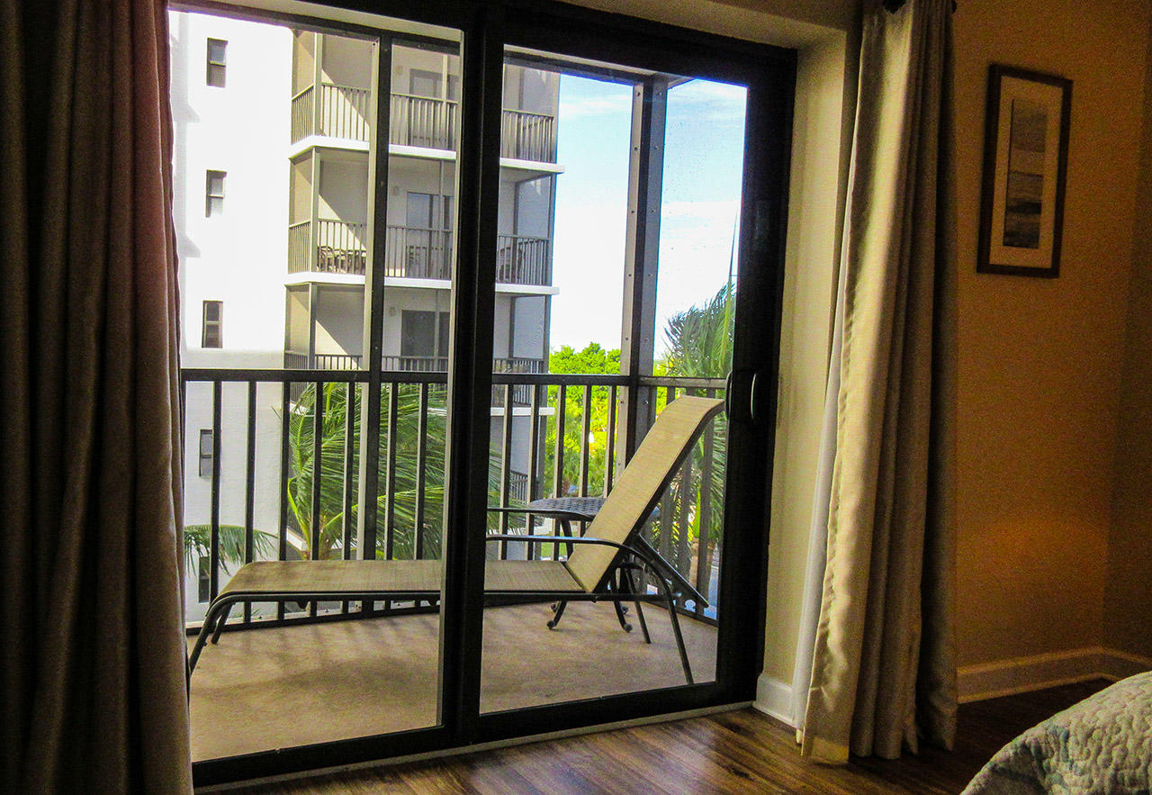 Private Lanai off Master Bedroom
