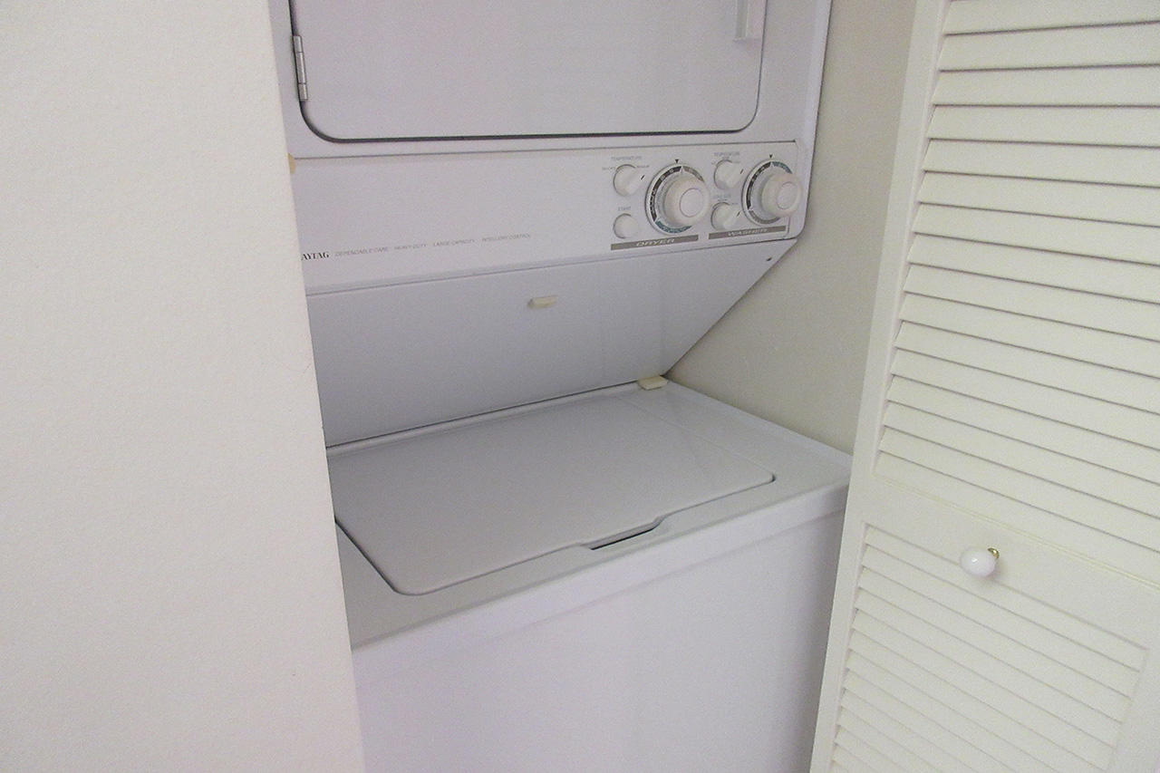 Harbour Pointe 725N - In Unit Washer and Dryer