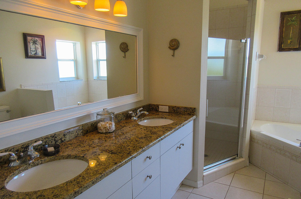 Master Bath with Separate Shower and Tub