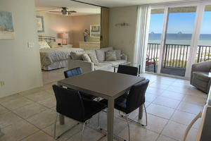 Estero Beach And Tennis Club 607C has a direct Gulf view from the balcony