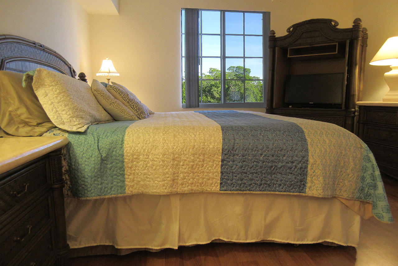 Master Bedroom has view of the Preserve
