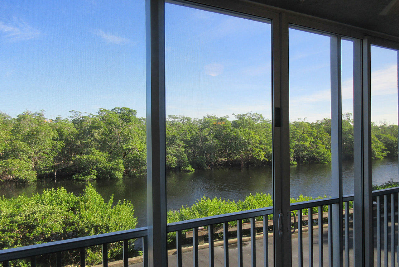 Relaxing Water View of the Preserve, home to many rare birds, can be yours