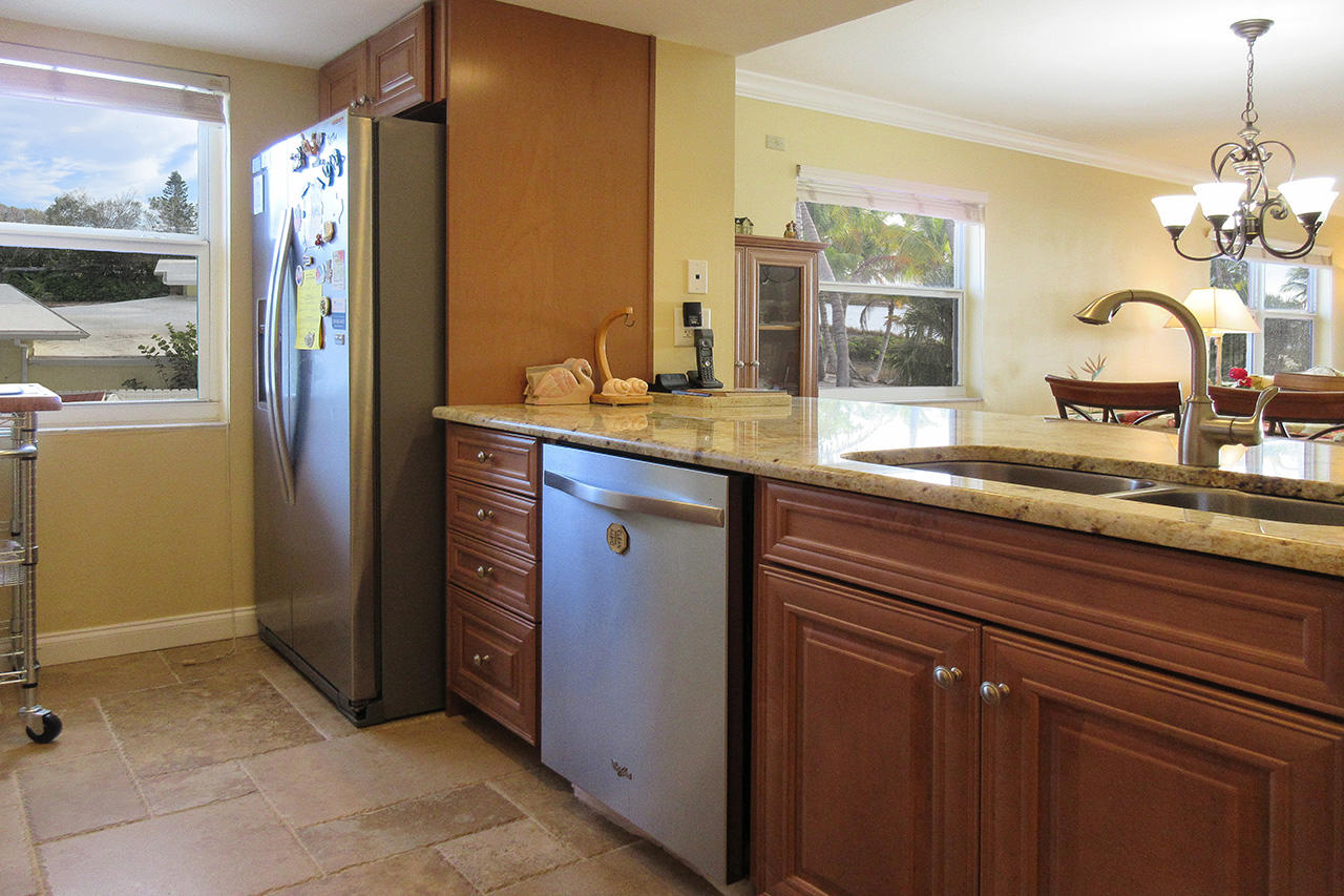 New appliances include a dishwasher